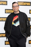 LOS ANGELES - AUG 25:  Aron Gaudet at the Queenpins Photocall at the Four Seasons Hotel Los Angeles on August 25, 2021 in Los Angeles, CA