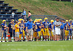 Seymour, CT-06 September 2012-090611CM05-  The Seymour sideline during a scrimmage against Oxford Thursday night in Seymour.    Christopher Massa Republican-American