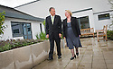 20/08/2010   Copyright  Pic : James Stewart.002_mental_health_unit  .::  NHS FORTH VALLEY ROYAL HOSPITAL :: NHS TRUST CHAIRMAN IAN MULLEN AND GENERAL MANAGER KATHY O'NEILL TAKE A WALK THROUGH ONE OF THE MANY GARDENS FOR PATIENTS AT THE NEW MENTAL HEALTH UNIT ::