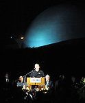 A memorial service for Neil Armstrong, first human to set foot on the moon, was held at the Armstrong Air & Space Museum on August 29, 2012.