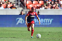 Houston, TX - Sunday Oct. 09, 2016: Whitney Church during a National Women's Soccer League (NWSL) Championship match between the Washington Spirit and the Western New York Flash at BBVA Compass Stadium.