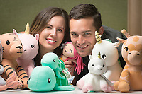 UAA Alums Trenton and Sarah Millar, along with Trenton's brother and sister-in-law, own and operate Elly Lu, a line of organic, certified non-toxic toys.