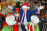 Paul Sherry is getting into the Christmas  holiday spirit at Killarney Outlet Centre
