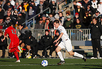 Wake Forest Demon Deacons midfielder Corben Bone (10). The Wake Forest Demon Deacons defeated the Ohio State Buckeyes 2-1 in the finals of the NCAA College Cup at SAS Stadium in Cary, NC on December 16, 2007.
