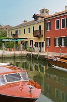 Italie, Vénétie, Venise,  Lagune de Venise, Île de Torcello:  Locanda Cipriani , Hôtel de Charme ,    // Italy, Veneto, Venice,  Venetian Lagoon, Torcello island:  Locanda Cipriani, Charming hôtel