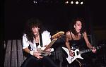 Eddie Jackson & Chris DeGarmo of Queensryche 1986