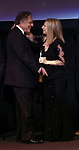 George Segal and Barbra Streisand during the Presentation for the 40th Annual Chaplin Award Gala Honoring Barbra Streisand at Avery Fisher Hall in New York City on 4/22/2013.