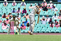 9th January 2021; Sydney Cricket Ground, Sydney, New South Wales, Australia; International Test Cricket, Third Test Day Three, Australia versus India; Manish Pandey of India takes a hand of the bat to the short ball