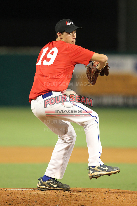 John Kilichowski during the Team One Futures Showcase East at Roger Dean Stadium on October 1, 2011 in Jupiter, Florida.  (Mike Janes/Four Seam Images)