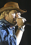 Cathleen Allison/Nevada Appeal.Toby Keith performs at the Harvey's Outdoor Arena during his concert in Aug. 2004. Keith will be performing there again Aug. 18..