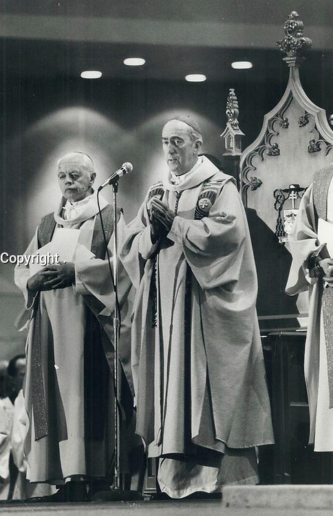 1979 FILE PHOTO - ARCHIVES -<br /> <br /> Carter; Gerald Emmett (Cardinal) <br /> <br /> <br /> Bezant, Graham<br /> Picture, 1979,<br /> <br /> 1979,<br /> <br /> PHOTO : Graham Bezant - Toronto Star Archives - AQP