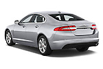 Car pictures of rear three quarter view of a 2015 Jaguar XF 2.2D 163 auto 4 Door Sedan 2WD Angular Rear