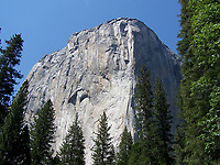 """Pictured: El Capitan at Yosemite National Park.<br /> Re: A British climber was killed and his wife seriously injured living their """"big dream"""" on one of the toughest rock faces in the world.<br /> Andrew Foster, 32, and his wife Lucy, 28, were buried under tons of falling rock as they prepared for their climb.<br /> Experienced climber Andrew was killed but Lucy was rescued and airlifted to hospital where she was in a """"critical"""" condition.<br /> The couple were married a year ago and the three-week trip to the Yosemite National Park in California was part of their first wedding anniversary celebrations.<br /> They had ben training for the expedition for six months and flew off to the States on September 11 along with other members of their climbing club.<br /> Andrew and Lucy, from Cardiff, were scouting out a descent of the iconic rockface El Capitan when a """"sheet"""" of granite fell on them.<br /> Rangers on the national park beauty spot said a piece of granite 40 metres by 20 metres fell from a height of 200 metres while the couple were below.<br /> Patagonia, a company owned by Andrew Foster has confirmed the incident."""