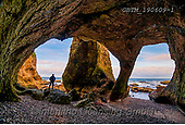 Tom Mackie, LANDSCAPES, LANDSCHAFTEN, PAISAJES, FOTO, photos,+Britain, British, County Antrim, Europe, Great Britain, Ireland, Irish, Northern Ireland, Tom Mackie, UK, cave, coast, coastl+ine, coastlines, dramatic outdoors, erosion, geology, horizontal, horizontals, landscape, landscapes, man, person, sea, sea a+rch,Britain, British, County Antrim, Europe, Great Britain, Ireland, Irish, Northern Ireland, Tom Mackie, UK, cave, coast, co+astline, coastlines, dramatic outdoors, erosion, geology, horizontal, horizontals, landscape, landscapes, man, person, sea, s+,GBTM190609-1,#L#, EVERYDAY ,Ireland