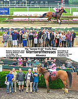 Warrioiroftheroses winning at Delaware Park on 6/23/18