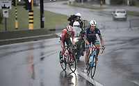In the last local lap race leaders Dimitri Claeys (BEL/Wanty - Groupe Gobert) & Pim Ligthart (NED/Lotto-Soudal) have a relatively comfortable gap of 50 seconds over the peloton<br /> <br /> GP Jef Scherens - Leuven 2016