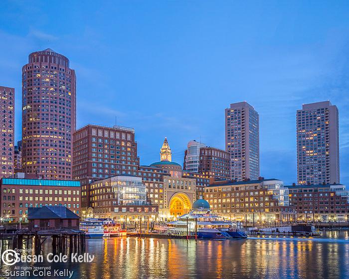 The Boston Harbor Hotel on Rowes Wharf, Boston, Massachusetts, USA