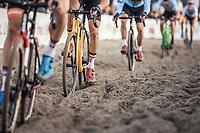 riding the rut<br /> <br /> UEC CYCLO-CROSS EUROPEAN CHAMPIONSHIPS 2018<br /> 's-Hertogenbosch – The Netherlands<br /> Men Elite Race