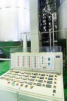 Control panel. Vallformosa, Vilobi, Penedes, Catalonia, Spain