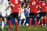 Akron's Michael Nanchoff (9) moves with the ball. 2010 NCAA D1 College Cup Championship Final Akron defeated Louisville 1-0 at Harder Stadium on the campus of UCSB in Santa Barbara, California on Sunday December 12, 2010.