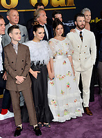 "LOS ANGELES, USA. November 15, 2019: Michael Shannon, Jaeden Martell, Daniel Craig, Katherine Langford, Don Johnson, Ana de Armas, Chris Evans & Jamie Lee Curtis at the premiere of ""Knives Out"" at the Regency Village Theatre.<br /> Picture: Paul Smith/Featureflash"