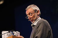 Friday 23 May 2014, Hay on Wye UK<br /> Pictured: Michael Rose in the Tata Tent.<br /> Re: The Telegraph Hay Festival, Hay on Wye, Powys, Wales UK.