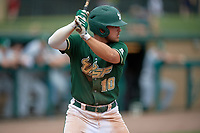 USF Bulls third baseman Jake Sullivan (10) at bat during a game against the Dartmouth Big Green on March 17, 2019 at USF Baseball Stadium in Tampa, Florida.  USF defeated Dartmouth 4-1.  (Mike Janes/Four Seam Images)