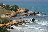 In der San Blas Bay auf Gozo, Malta, Europa