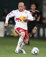 Luke Roberts (9) of the New York Red Bulls during an MLS match against D.C. United at RFK Stadium, in Washington D.C. on April 21 2011. Red Bulls won 4-0.