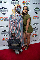 LOS ANGELES - APRIL 8:  Celebrity stylist Sir Joe Exclusive and Mariana Velletto at Marian Velletto Listening Event inside Kevin Hart's HartBeat Studios in Los Angeles, CA on April 8, 2021. (Photo by Adrian Sidney/PictureGroup)