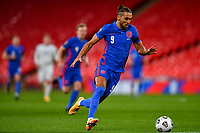 25th March 2021; Wembley Stadium, London, England;  Dominic Calvert-Lewin England breaks on the ball  during the World Cup 2022 Qualification match between England and San Marino at Wembley Stadium in London, England.