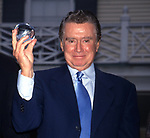 Regis Philbin attends the 17th Annual Crystal Apple Award at Gracie Mansion on June 14, 2000 in New York City.