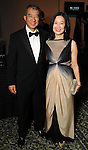 """Anne and Albert Chao at """"Modern"""" the  Museum of Fine Arts Houston's Grand Gala Ball  Friday Oct. 12,2012.(Dave Rossman photo)"""