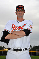 Feb 27, 2010; Tampa, FL, USA; Baltimore Orioles  pitcher Kam Mickolio (31) during  photoday at Ed Smith Stadium. Mandatory Credit: Tomasso De Rosa/ Four Seam Images