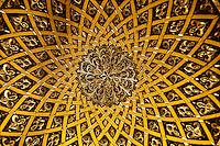 Inlaid gold plate design, Toledo, Spain