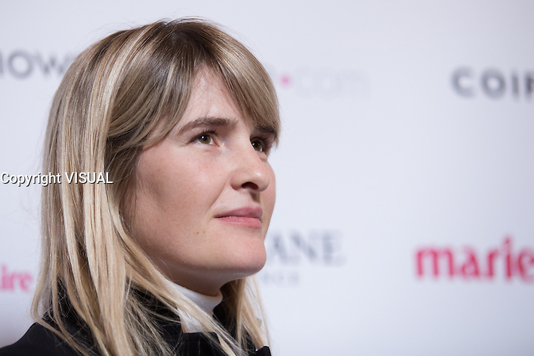 MARIANNE MAIRESSE - CONFERENCE DE PRESSE 'LA FLAMME MARIE-CLAIRE' 2016