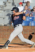 Kyle Knudson  during the Appalachian League Championship. Johnson City  won 6-2 at Howard Johnson Field, Johnson City Tennessee. Photo By Tony Farlow/Four Seam Images.