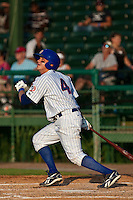 Jake Opitz of the Daytona Cubs during the game at Jackie Robinson Ballpark in Daytona Beach, Florida on August 2, 2010. Photo By Scott Jontes/Four Seam Images