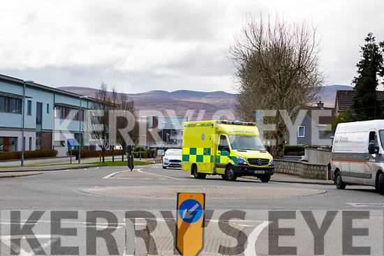 Ambulance at University Hospital Kerry.