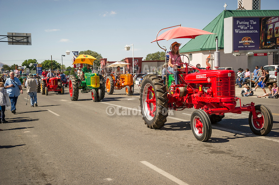 Winnemucca's Tri County Fair, Labor Day weekend..Tractors
