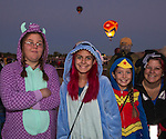 Taylor, Kirsten, Mackenzie and Charlene at the Great Reno Balloon Races held on Saturday, Sept. 10, 2016.