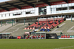 08.11.2020, Dietmar-Scholze-Stadion an der Lohmuehle, Luebeck, GER, 3. Liga, VfB Luebeck vs KFC Uerdingen 05 <br /> <br /> im Bild / picture shows <br /> Gesiterspiel auf der Lohmuehle, bedingt durch Corona sind keine Zuschauer zugelassen<br /> <br /> DFB REGULATIONS PROHIBIT ANY USE OF PHOTOGRAPHS AS IMAGE SEQUENCES AND/OR QUASI-VIDEO.<br /> <br /> Foto © nordphoto / Tauchnitz