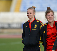 20180305 - LARNACA , CYPRUS :  Belgian Sarah Wijnants pictured during a women's soccer game between  the Belgian Red Flames  and Austria , on Monday 5 March 2018 at the GSZ Stadium in Larnaca , Cyprus . This is the third game in group B for Belgium during the Cyprus Womens Cup , a prestigious women soccer tournament as a preparation on the World Cup 2019 qualification duels. PHOTO SPORTPIX.BE | DAVID CATRY