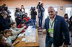 VOX's controller during Spanish General Elections 2019. April 28,2019. (ALTERPHOTOS/Baldesca Samper)