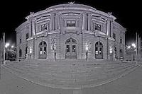 Mosaic view of Grand-Théâtre (opera) in Geneva