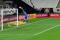 São Paulo (SP), 29/04/2021 - CORINTHIANS-PEÑAROL -Cássio, goleiro do Corinthians.  Corinthians e Peñarol partida válida pela 2ª rodada da Sul-Americana 2021, na Neo Química Arena, nesta quinta-feira (29).