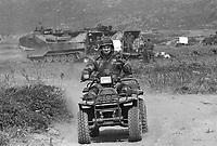 - U.S. Marines during NATO exercises in the Mediterranean Sea at capTeulada (Sardinia, May 1992)....- Marines USA durante esercitazioni NATO in Mar Mediterraneo a capo Teulada (Sardegna, maggio 1992)