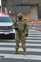 Security Around The US Capitol Ahead Of The 2021 Presidential Inauguration