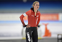 SCHAATSEN: HEERENVEEN: 10-10-2020, KNSB Trainingswedstrijd, Melissa Wijfje, ©foto Martin de Jong