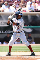Albert Cartwright -  Lancaster JetHawks playing against the Lake Elsinore Storm at the Diamond, Lake Elsinore, CA - 05/16/2010.Photo by:  Bill Mitchell/Four Seam Images